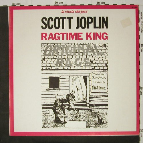 Joplin,Scott: Rag Time King, Joker(SM 3097), I, 1971 - LP - C8268 - 4,00 Euro