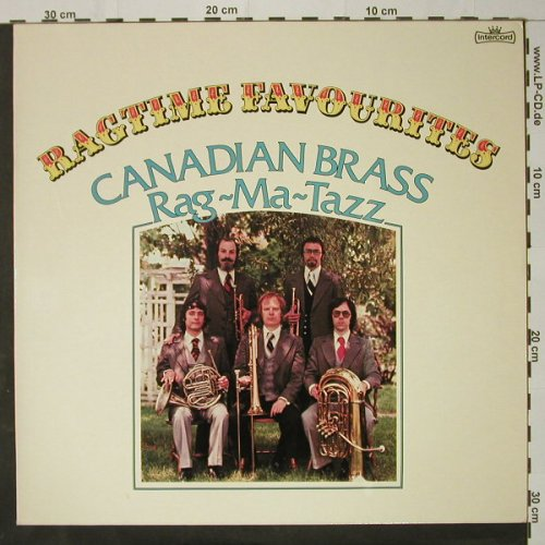Canadian Brass: Ragtime Favorites-Rag-Ma-Taz, Intercord(INT 145.003), D, 1975 - LP - C8708 - 5,00 Euro