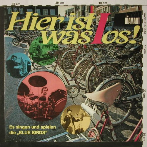 Blue Birds: Hier Is Was Los, Diamond(120 130), D, 1973 - LP - C8735 - 5,00 Euro