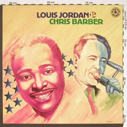 Jordan,Louis & Chris Barber: Same, Ri, Black Lion(INT 147.001), D, 1962 - LP - C9118 - 6,00 Euro