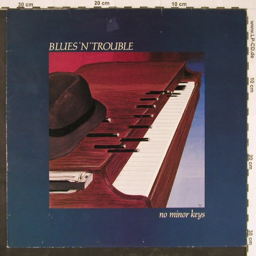 Blues'n'Trouble: No Minor Keys, m-/vg+, Line(INLP 4.00227), D, 1986 - LP - E1202 - 4,00 Euro