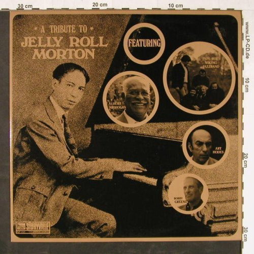 Morton,Jelly Roll: A Tribute To, V.A., Storyville(SLP 221), DK, 1972 - LP - E1579 - 5,00 Euro