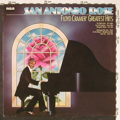 Cramer,Floyd: San Antonio Rose-Greatest Hits, RCA(26.21413), D, 1975 - LP - E1652 - 4,00 Euro