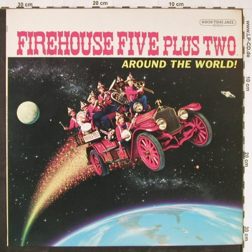 Firehouse Five Plus Two: Around the World!, GTJ(S10044), US,  - LP - E2407 - 5,00 Euro
