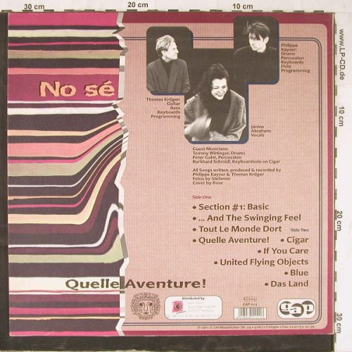 No Se': Quelle Aventure!, GAP(1111), D,  - LP - E5280 - 4,00 Euro