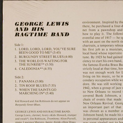 Lewis,George: In Concert, Ri, FS-New, Storyville(SLP 4022), US, 1960 - LP - E5676 - 9,00 Euro