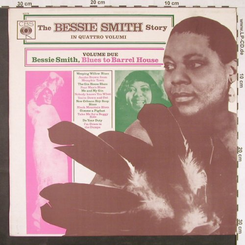 Smith,Bessy: The Bessie Smith Story, Vol.Due, CBS(62378), I, 1969 - LP - E925 - 6,00 Euro