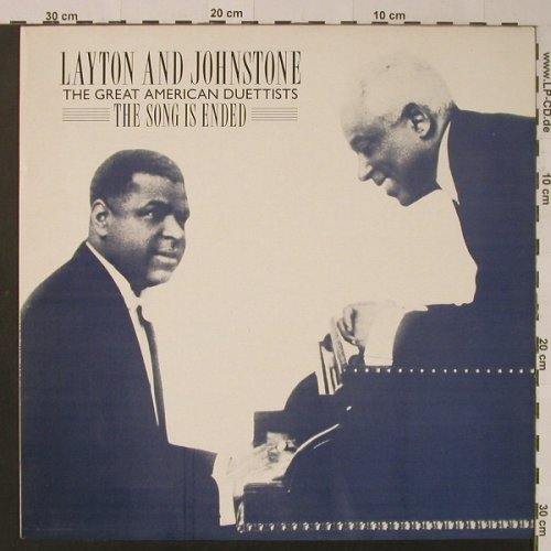 Layton and Johnstone: The Song Is Ended, Joy(D 277), UK, 1983 - LP - F4081 - 7,50 Euro
