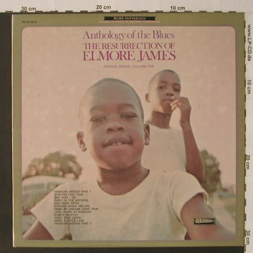 James,Elmore: Anthology of the Blues,ArchiveVol10, Musidisc(30 AB 5610), F,  - LP - F5292 - 7,50 Euro