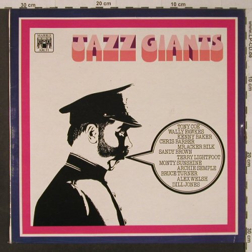 V.A.Jazz Giants: Acker Bilk...Chris Barber, Ri, MarbleArch(MALS 1167/85141), UK, 1969 - LP - F5656 - 5,50 Euro