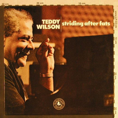 Wilson,Teddy: Striding After Fats, Black Lion(BLP 30156), NL, 1974 - LP - H1259 - 12,50 Euro