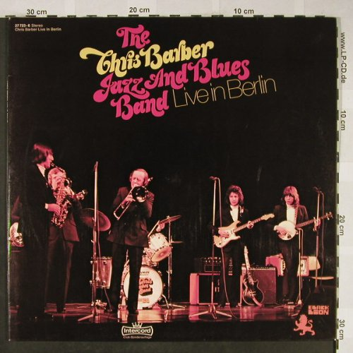 Barber,Chris / Jazz&Blues Band: Live in Berlin, Foc,Club-Sonderaufl, Intercord(27 723-6), D, 1973 - 2LP - H1988 - 9,00 Euro