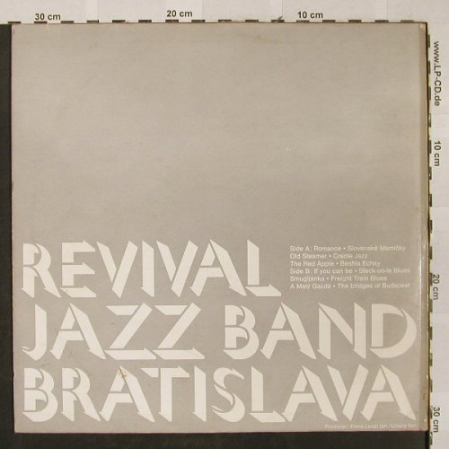 Revival Jazzband: Same, Elite Special(SOLP-463), CH,  - LP - H2598 - 6,00 Euro