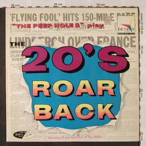 "Peep Hole 8"": The Twenties Roar Back, Design(DLP 66), US,  - LP - H2920 - 7,50 Euro"