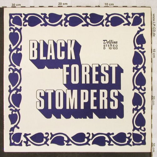 Black Forest Stompers: A New Sound of Dixieland, Delfina(D 10 103), D,  - LP - H3073 - 5,50 Euro