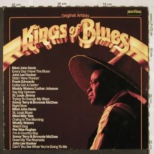 V.A.Kings Of Blues: Blind John Davis...John Lee Hooker, Marifon(296 094-241), D, 1982 - LP - H3115 - 5,50 Euro