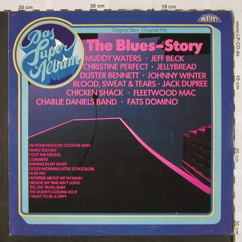 V.A.The Blues-Story: Muddy Waters...Jack Dupree, Memory(296 985-245), NL, 1981 - LP - H3117 - 4,00 Euro