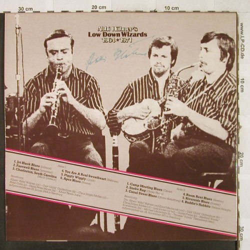 Hübner,Abbi & Lowdown Wizards: 1964/1971, A.H.(PF 085), D,  - LP - H3661 - 6,00 Euro