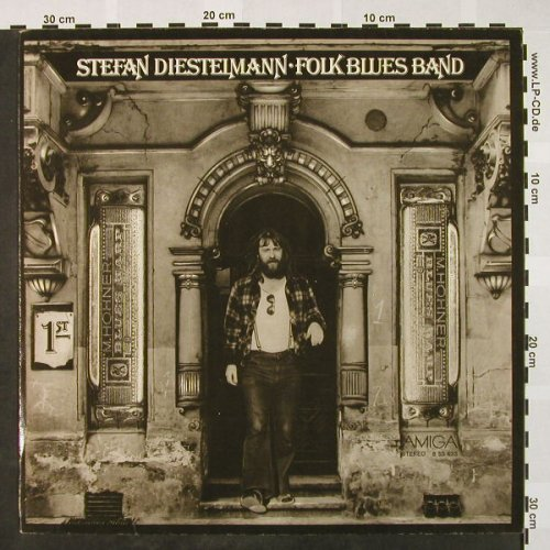 Diestelmann,Stefan: Folk Blues Band, Amiga(8 55 633), DDR, 1978 - LP - H4051 - 6,50 Euro