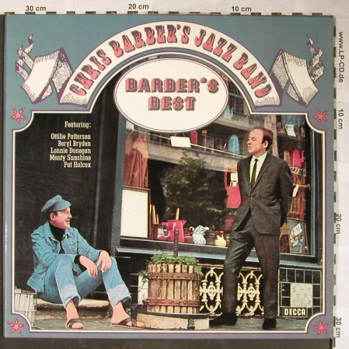 Barber's Jazzband,Chris: Barber's Best, Foc, Telefunken(DS 3197/1-2), D, 1973 - 2LP - H5556 - 7,50 Euro
