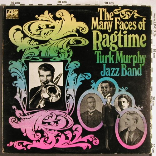 Turk Murphy Jazzband: The Many Faces of, Atlantic(SD 1613), US,m-/vg+, 1972 - LP - H6470 - 6,00 Euro
