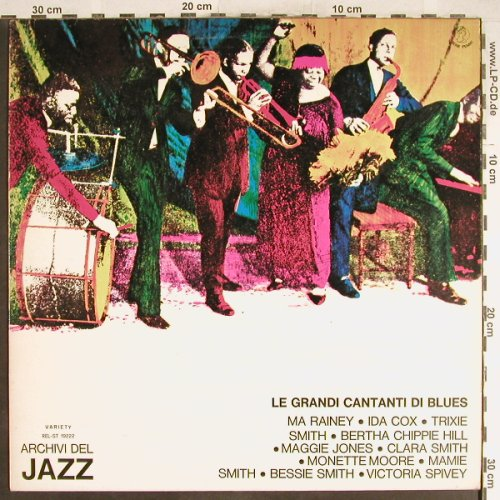 V.A.I Grandi Cantani di Blues: Bessie Smith...Ma Rainey, Variety/Archivi d.J.(REL-ST 19222), I, 1974 - LP - H6573 - 6,00 Euro