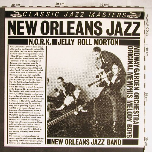 Morton,Jelly Roll: New Orleans Jazz, Classic Jazz Masters(CJM 88501), D,  - LP - H6612 - 5,00 Euro