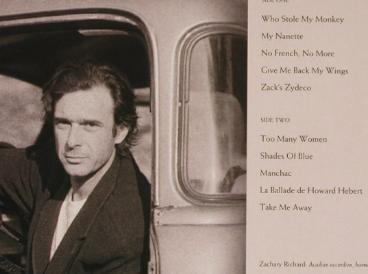 Richard,Zachary: Women In The Room(Cajun), AM(395302-1), NL, 1990 - LP - H6642 - 5,00 Euro