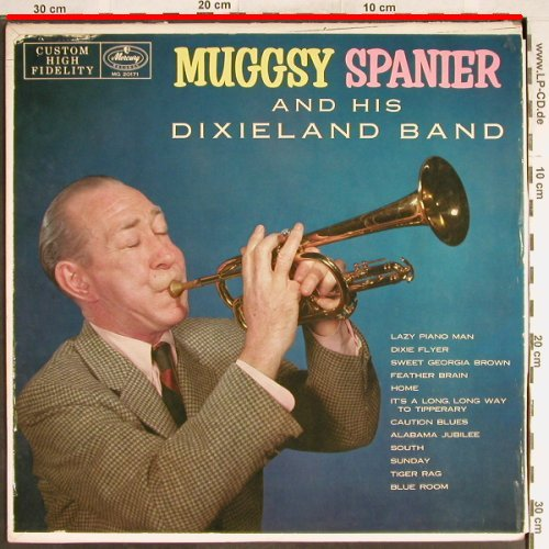 Spanier,Muggsy: and his Dixieland Band, vg+/VG-, Mercury(MG 20171), US,  - LP - H6730 - 4,00 Euro