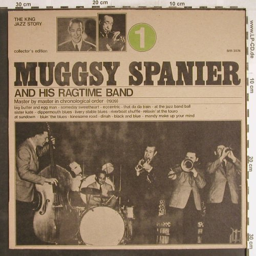 Spanier,Muggsy & his Ragtime Band: Vol.1, Joker(SM 3574), I, 1973 - LP - H6734 - 5,00 Euro