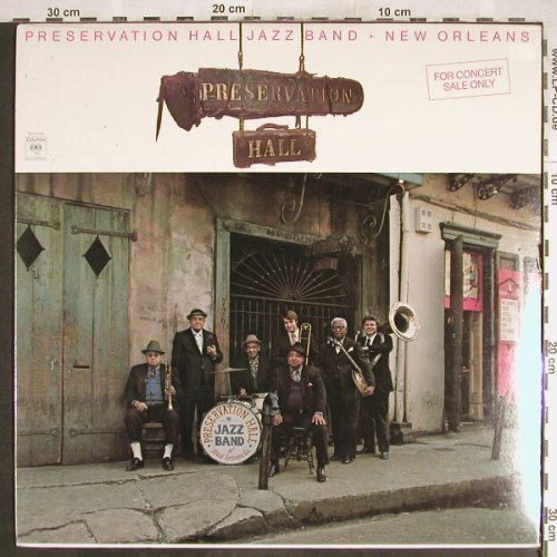Preservation Hall Jazz Band: New Orleans,FS-New, Columbia(XM 34549), US, 1977 - LP - H6967 - 7,50 Euro