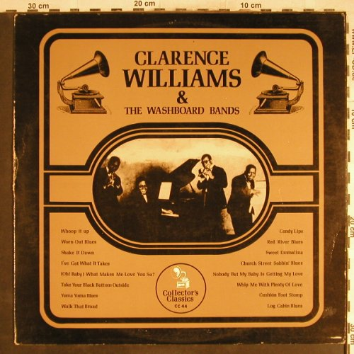 Williams,Clarence: & Washboard Bands, m-/VG-, Collector's Classics(CC 22), ,  - LP - H7057 - 3,00 Euro