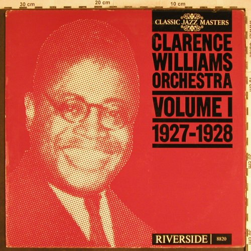 Williams,Clarence: Volume 1 ,1927-1928, Foc, m-/vg+, Riverside(RM 8820), NL,  - LP - H7058 - 4,00 Euro