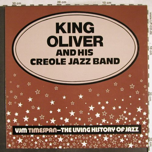 King Oliver's Creole Jazz Band: Same, VJM(VLP 49), UK, 1977 - LP - H7438 - 7,50 Euro