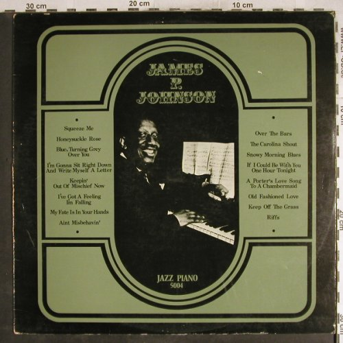 Johnson,James P.: Same, m-/Vg+, Jazz Piano(JP 5004), , 1971 - LP - H7710 - 5,00 Euro