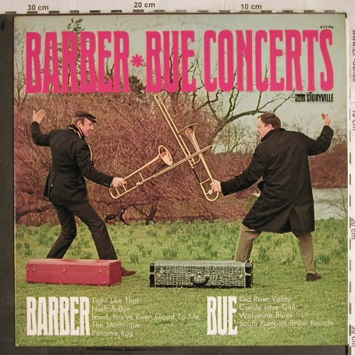 Barber,Chris & his Jazz Band: Barber Bue Concerts, Storyville(671 196), DK, Ri,  - LP - H8553 - 7,50 Euro