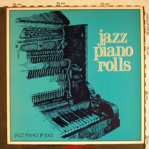 V.A.Jazz Piano Rolls: Cliff Jackson...Jimmy Blythe, Jazz Piano(JP 5002), ,  - LP - H8568 - 6,00 Euro