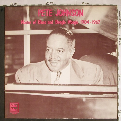 Johnson,Pete: Master of Blues&Boogie Woogie, Oldie Blues(1904-1967)(OL 2801), NL,vg+/m-,  - LP - H8576 - 6,00 Euro