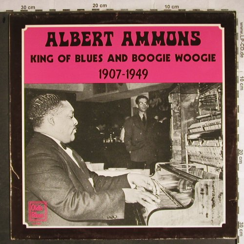 Ammons,Albert: King of Blues&Boogie Woogie, Oldie Blues(1907-1949)(OL 2807), NL,m-/vg+, 1980 - LP - H8577 - 6,00 Euro