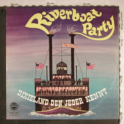 Hot Potatos: Riverboat Party, Tempo(7091), D,vg+/vg+,  - LP - H8623 - 6,00 Euro