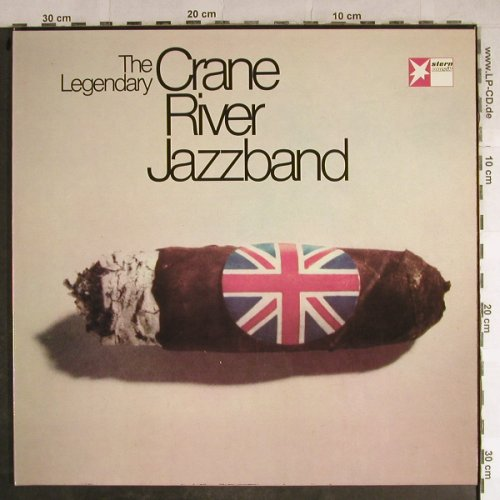 Crane River Jazzband: The Legendary, Foc, Happy Bird / Stern Musik(5003), D, 1973 - LP - H8797 - 7,50 Euro