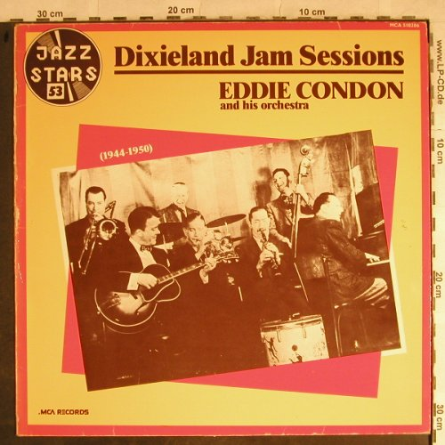 Condon,Eddie & his Orch.: Dixieland Jam Sessions,1944-1950, MCA Jazz Stars(510.206), F,m-/vg-, 1975 - LP - H8799 - 4,00 Euro