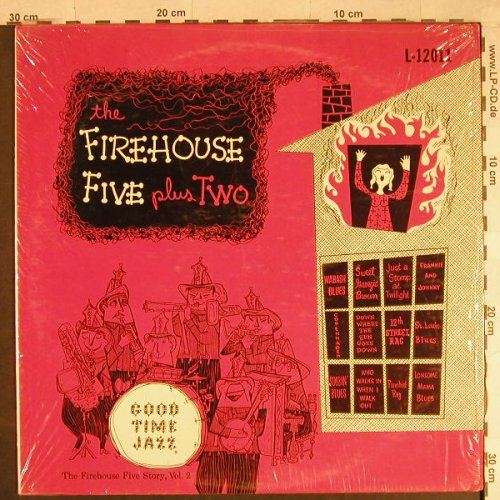 Firehouse Five Plus Two: The Firehouse Five Story,Vol.2, Good Time Jazz(GTJ L-12011), US,  - LP - H932 - 5,00 Euro