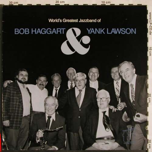 Haggart,Bob & Yank Lawson: World's Greatest Jazzband of, Timeless(TTD 533), EEC,m-/vg+, 1986 - LP - X1070 - 5,00 Euro