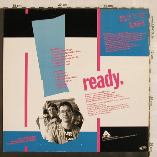 Blues Band: Ready, Arista(202 887-320), D, 1980 - LP - X107 - 5,00 Euro