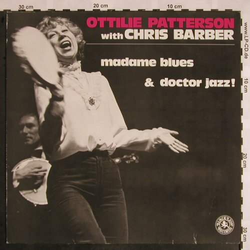 Patterson,Ottilie with Chris Barber: Madame Blues & Doctor Jazz !, Black Lion(BLM 51101), D, 1984 - LP - X1081 - 7,50 Euro