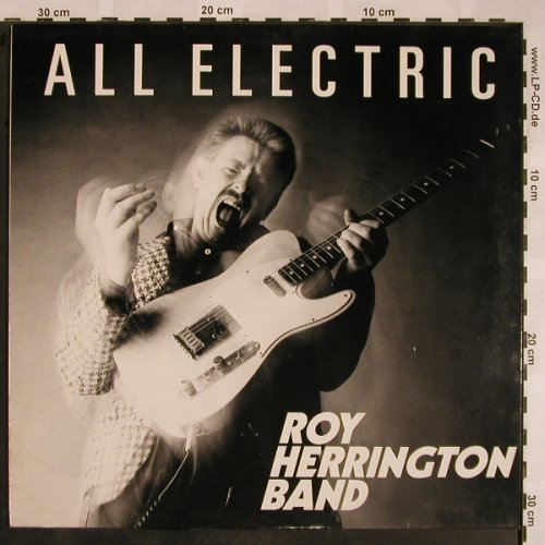 Herrington Band,Roy: All Electric, m-/vg+, BackYard(RIFF 901-1), D, 1990 - LP - X1205 - 6,00 Euro