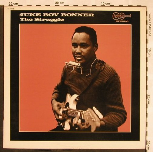Juke Boy Bonner: The Struggle, Arhoolie(AR 19002), F,  - LP - X1357 - 15,00 Euro