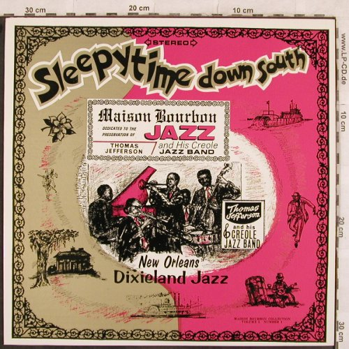 Jefferson,Thomas & his Creole J.B.: Sleepytime down south, Maison Bourbon 1(NR5471), US,  - LP - X135 - 7,50 Euro