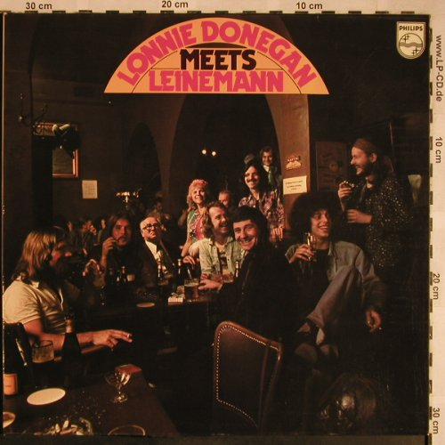 Donegan,Lonnie: Meets Leinemann, Foc, Philips(6305 227), D, 1974 - LP - X1517 - 6,00 Euro